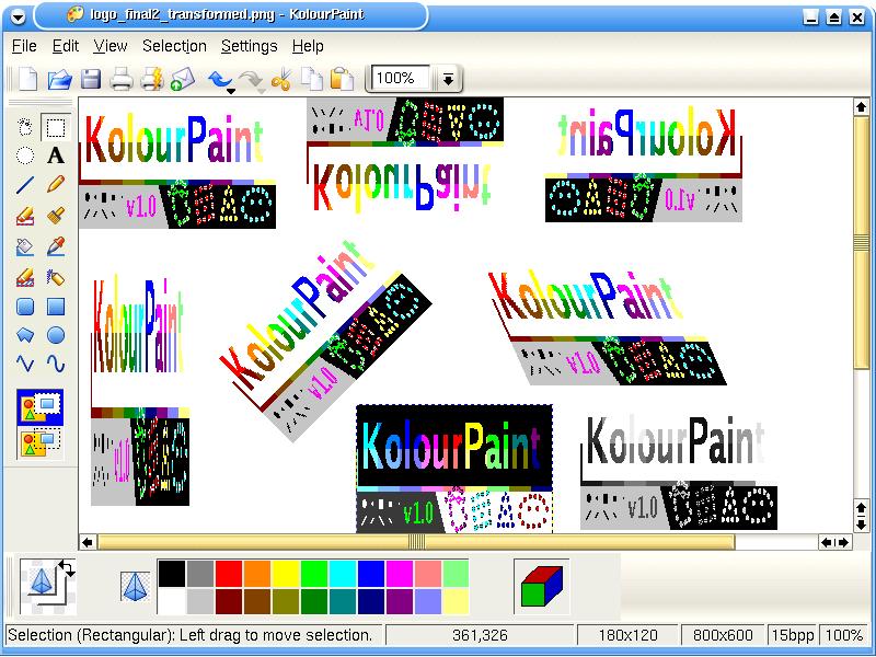 Screenshots Kolourpaint The Free Easy To Use Paint
